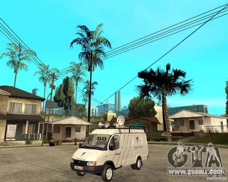 Gazelle 2705 News Channel for GTA San Andreas