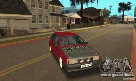 VAZ 2108 Maxi for GTA San Andreas