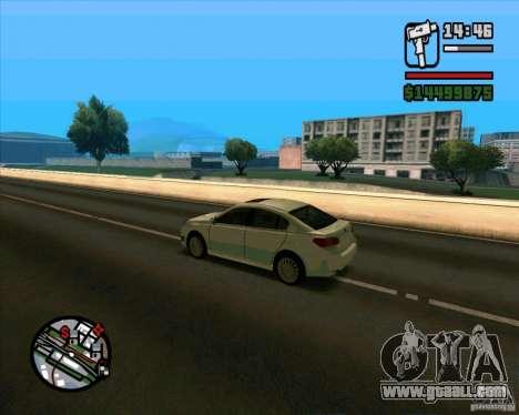 Subaru Legacy 2010 v.2 for GTA San Andreas back left view