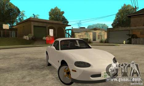 Mazda MX-5 JDM Coupe for GTA San Andreas back view