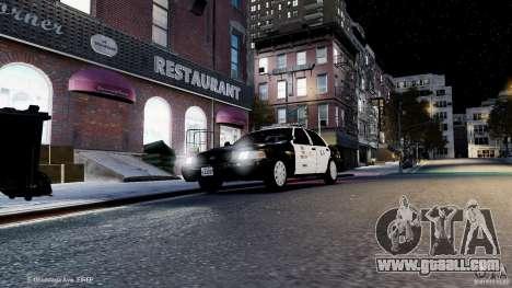 Ford Crown Victoria CVPI-K9 V6.9A-LAPD-ELS for GTA 4 side view