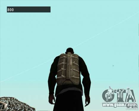 Black Ops Parachute for GTA San Andreas forth screenshot