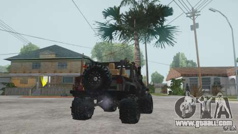 Jeep Wrangler Off road v2 for GTA San Andreas back left view