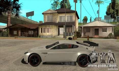 Aston Martin v8 Vantage N400 for GTA San Andreas left view