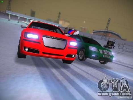 Chrysler 300C SRT8 2011 for GTA San Andreas side view