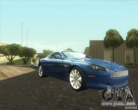 Aston Martin DB9 tunable for GTA San Andreas