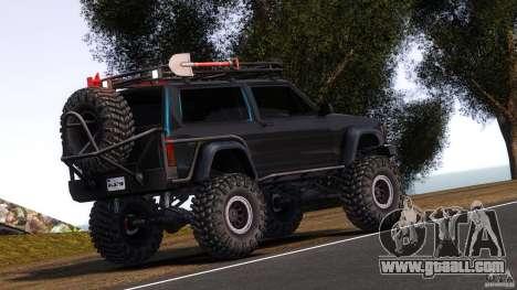 Jeep Cheeroke SE v1.1 for GTA 4 back left view