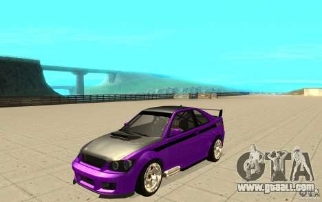GTA IV Sultan RS FINAL for GTA San Andreas side view