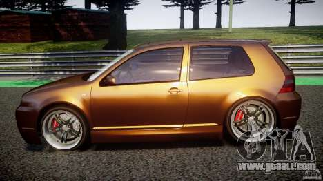 Volkswagen Golf IV R32 for GTA 4 left view