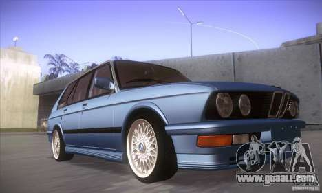 BMW E28 Touring for GTA San Andreas