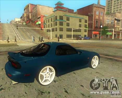 Mazda RX 7 for GTA San Andreas right view