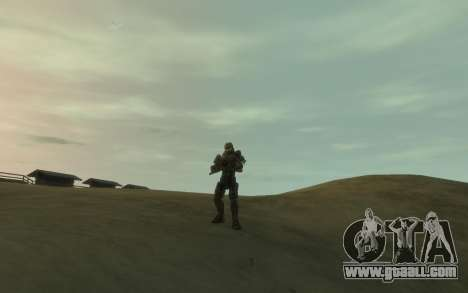 Halo 4 Master Chief for GTA 4 fifth screenshot