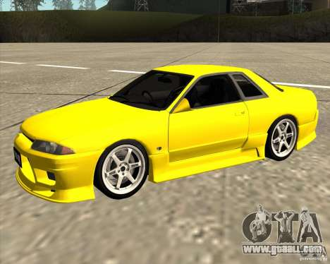 Nissan Skyline R32 Bee R for GTA San Andreas
