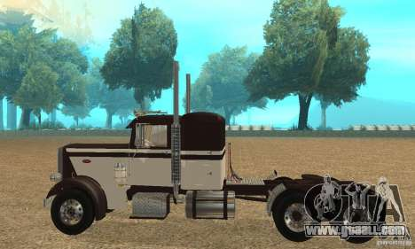Peterbilt 359 Special 1967 for GTA San Andreas left view