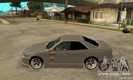 Nissan Skyline Er34 Street Drift for GTA San Andreas left view