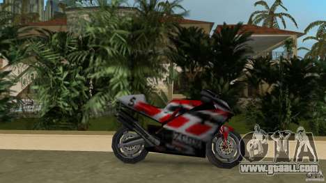 Yamaha YZR 500 for GTA Vice City left view