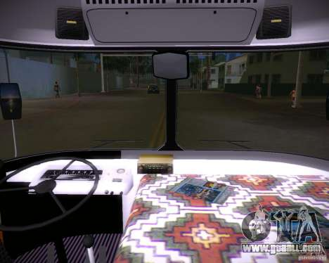 Paz-672 for GTA Vice City back view