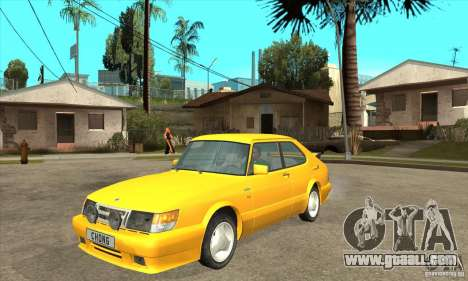 Saab 900 Turbo 1989 v.1.2 for GTA San Andreas left view