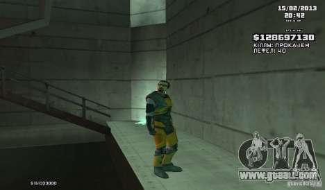 Gordon Freeman for GTA San Andreas second screenshot