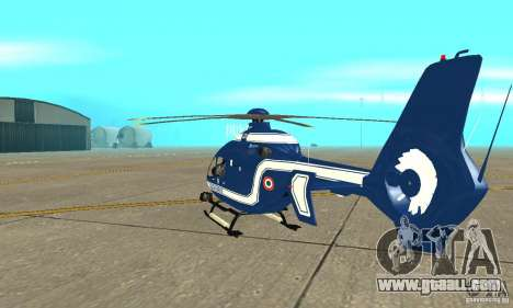 EC-135 Gendarmerie for GTA San Andreas right view