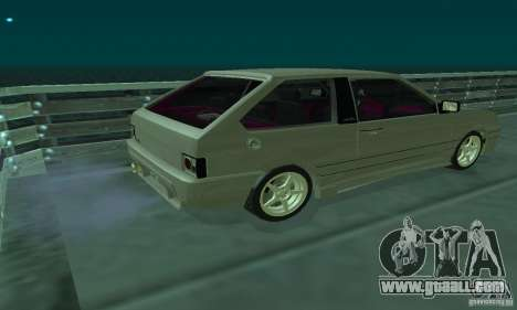 VAZ 2113 ADT Art Tuning for GTA San Andreas back left view