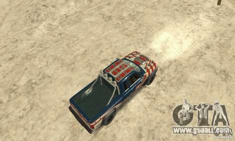 Nevada v1.0 FlatOut 2 for GTA San Andreas back left view