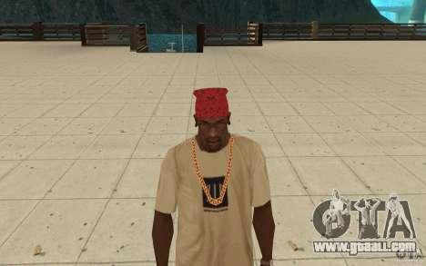Maryshuana red bandana for GTA San Andreas