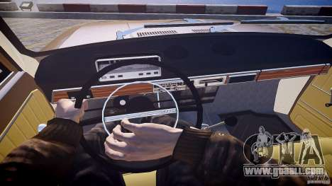 VAZ 2101 Stock v2.0 for GTA 4 back view