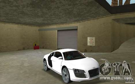 Audi R8 Le Mans for GTA Vice City