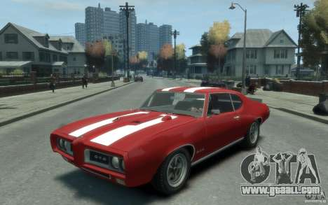 Pontiac GTO Hardtop 1968 v1 for GTA 4