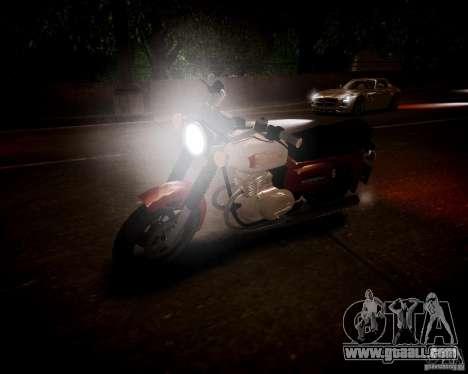 Sunrise 3 m-01 Beta for GTA 4 back view