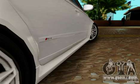 Audi RS4 2007 for GTA San Andreas bottom view