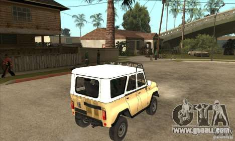 UAZ 31514 for GTA San Andreas right view