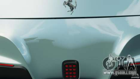 Ferrari F12 Berlinetta 2013 [EPM] for GTA 4 bottom view