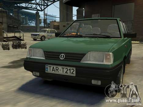 FSO Polonez for GTA 4 left view