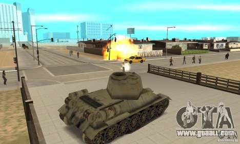 Tank T-34-85 for GTA San Andreas