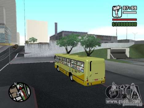 Ciferal Citmax for GTA San Andreas back left view