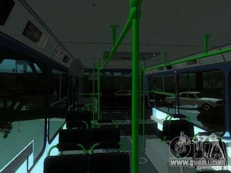 LIAZ 5256-25 for GTA San Andreas upper view