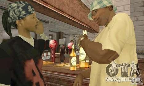 Beer SLAVUTYCH for GTA San Andreas third screenshot