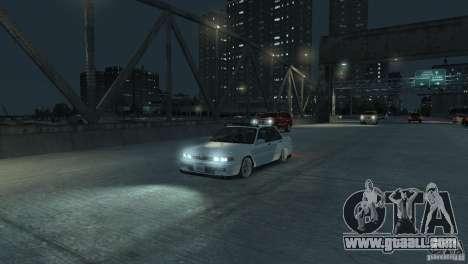 Mitsubishi Galant Stance for GTA 4 back view