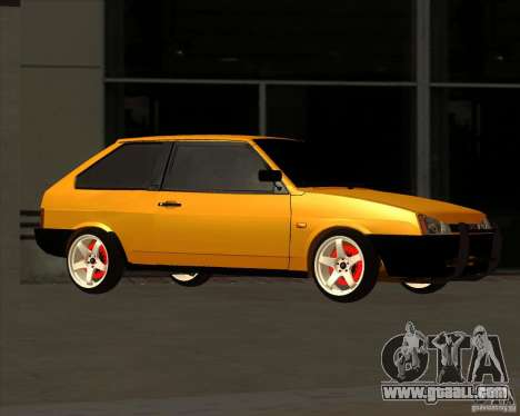 VAZ 2108 (version with white discs) for GTA San Andreas left view