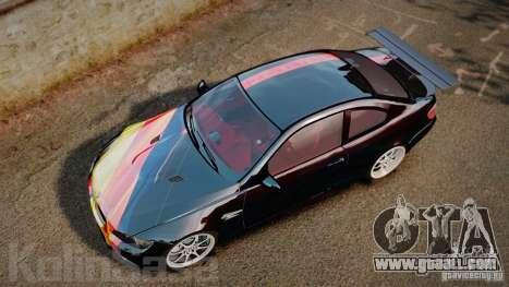 BMW E92 M3 Threep Edition for GTA 4 right view
