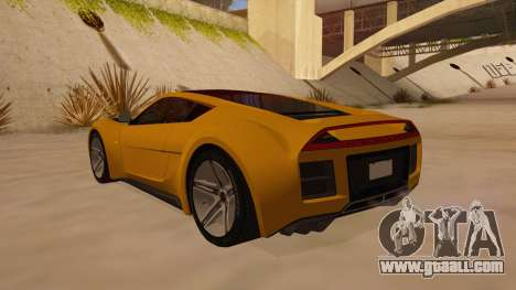 Saleen S5S Raptor 2010 for GTA San Andreas back left view