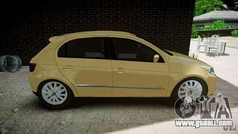 Volkswagen Gol 1.6 Power 2009 for GTA 4 left view