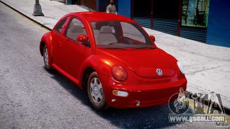 Volkswagen New Beetle 2003 for GTA 4 right view