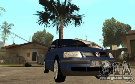 VW Passat B5 1.8T for GTA San Andreas back view