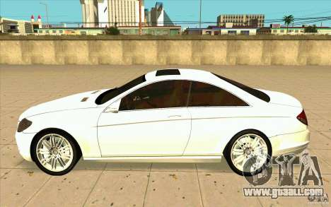 Mercedes Benz CL 500 for GTA San Andreas left view
