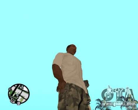 Normal hands CJâ for GTA San Andreas forth screenshot