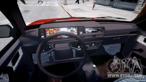 Vaz-21093i for GTA 4 back view