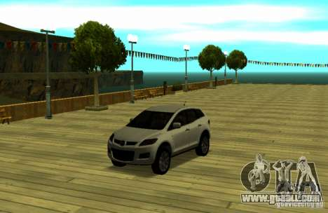 Mazda CX7 for GTA San Andreas right view
